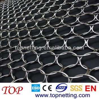 Stainless Steel Wire Mesh Ring Mesh,Ring Curtain