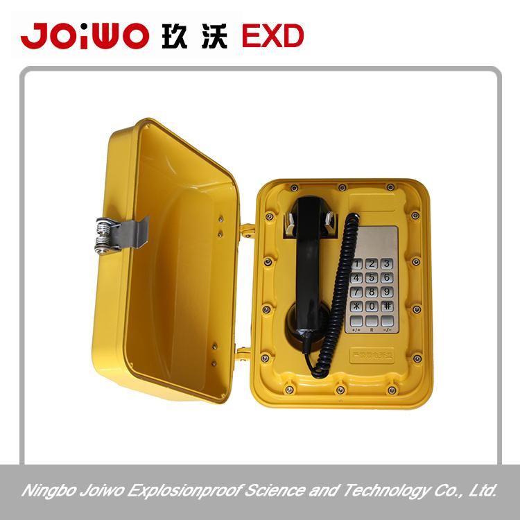 self-closing door telephone against dust and moisture ingress weatherproof phone