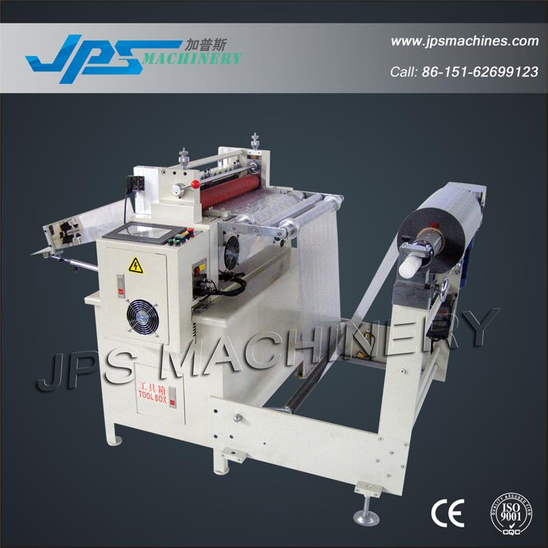 JPS-550B Transparent Film Horizontal Cutting Machine With Automatic Unwinding System
