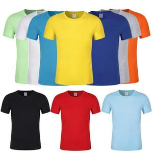 GZY China factory wholesale o-neck t shirts in stocks men blank cotton high quality t-shirt