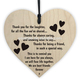 Heart shaped wood chip home Christmas tree ornament small pendant with printing greeting