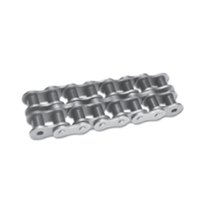 ISO DIN standard carbon steel pitch 19.05mm A series duplex roller chain
