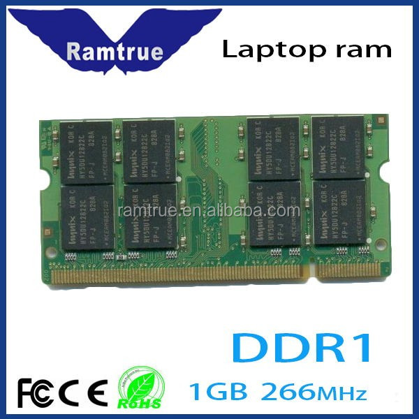 Fast delivery tested non ecc 64mb*8 ddr1 1gb ram for laptop