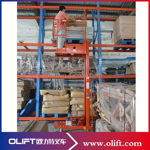 nice price Olift order picker inspection checklist with electric lifting with certificate CE