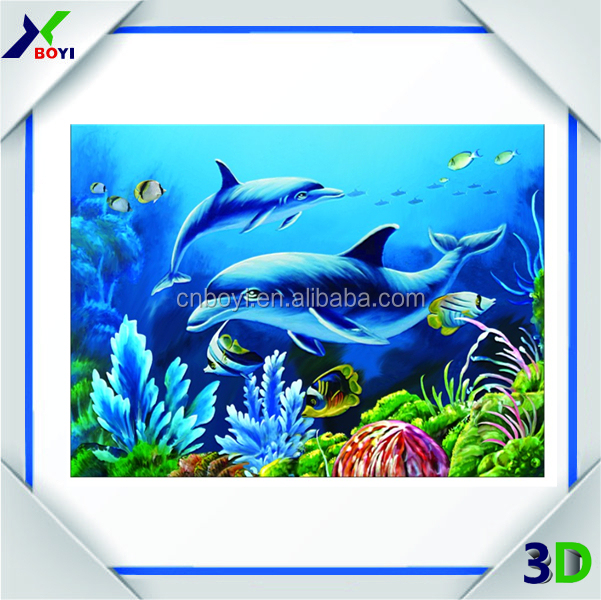 Advertising&Home decoration custom 3d printing PET/PP 3d lenticular picture lenticular poster