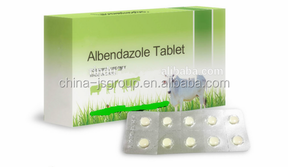 Anthelmintic drug dog worm tablets albendazole veterinary medicine