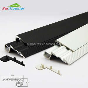 stair nosing light cinema step led profile stair edge light aluminum extrusion