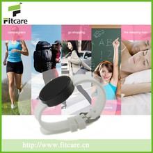 Waterproof Bluetooth wristband calories pedometer with calories counter and Pedometer functions