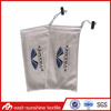 Wholesale custom logo silk screen printing microfiber sunglasses bags