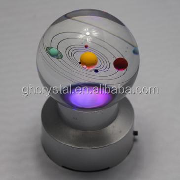 décoration à la maison système solaire boule de cristal ...