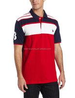 yarn dyed stripe t-shirt, 100% cotton woven pattern t-shirt