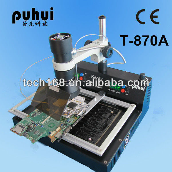 T870A BGA rework station/repair part for samsung galaxy s2 motherboard/new bga reballing machine,soldering,welding,taian,puhui
