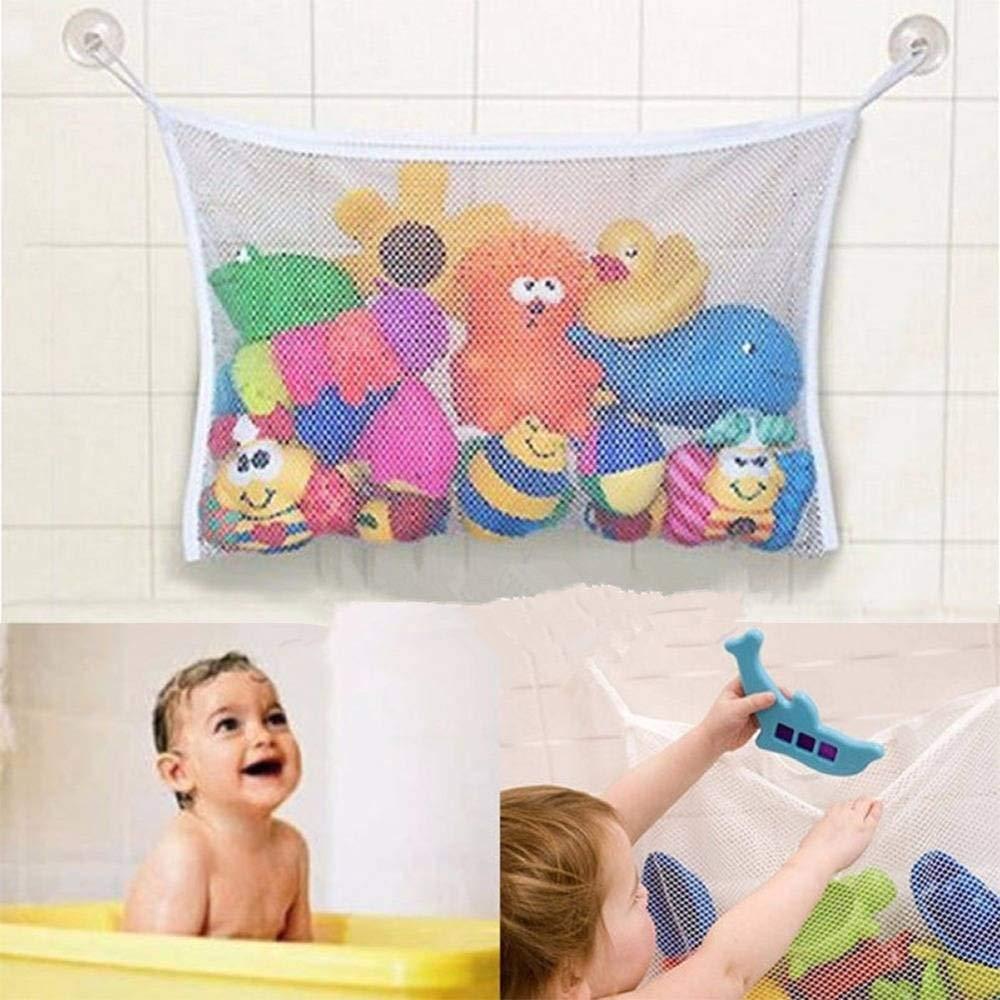 Buy Baby Kids Bath Toys Tidy Storage Suction Bathroom Stuff ...
