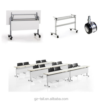 Foldable School Training Tables For Student Office Conference - Foldable training table