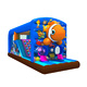 New design ocean theme fairyland inflatable house barrier,inflatable houses to live in for sale