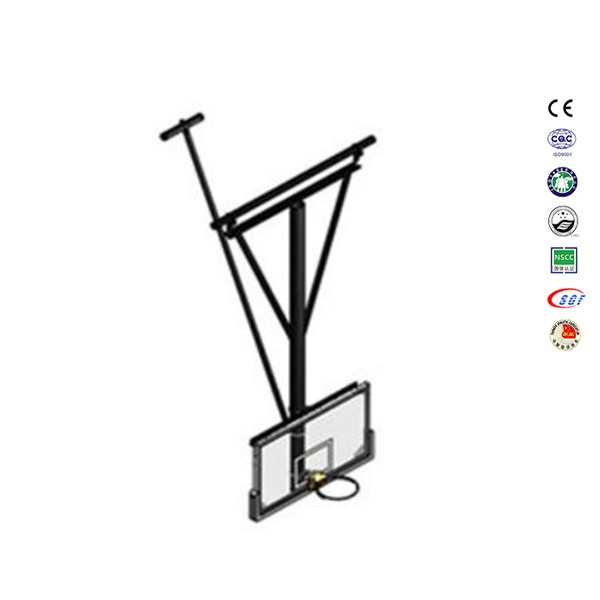 Supermarket kids basketball hoop with stand