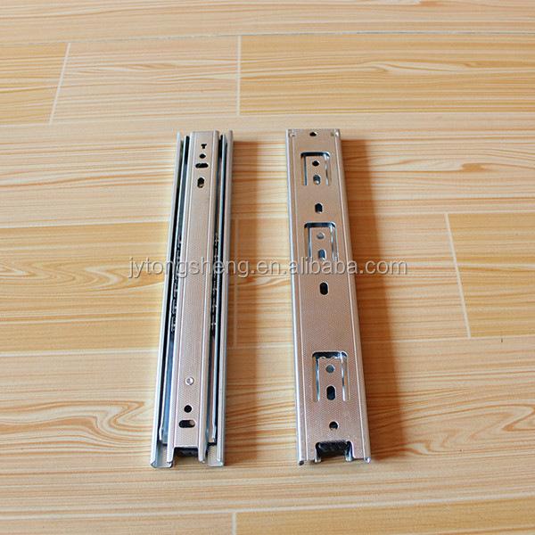L-shaped Kitchen Cabinet Plastic Drawer Slides