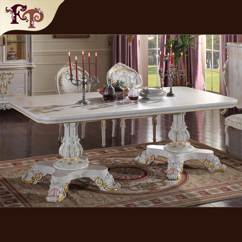 fine french furniture European style furniture French classical furniture dining table