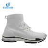 Factory Supply Korea Style Super Light Breathable White Ladies Sports Running Shoes
