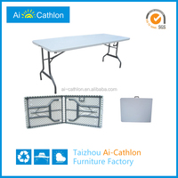 6ft modern folding garden table set/party table set/dinning table set