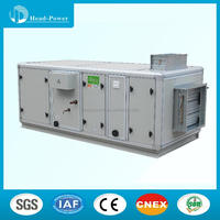 Vibration isolation system assembly air handling unit