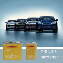 High solid content car paint hardener for putty