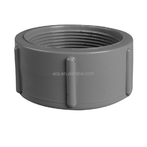 ERA PN16 High Quality PVC Pipe Fittings threaded Female plastic end cap