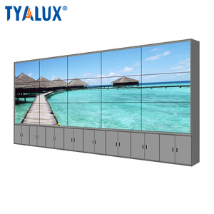 LCD large screen video wall panel display advertising player
