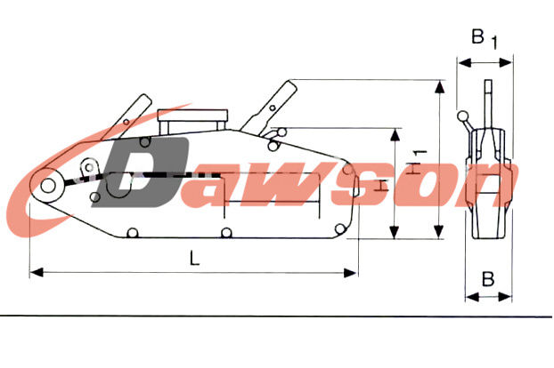 Wire Rope Pulling Hoist / Wire Rope Winch / Cable Pulling Equipment ...