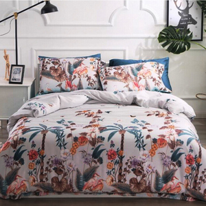 Hot sale bright color comforter sets from shanghai supplier