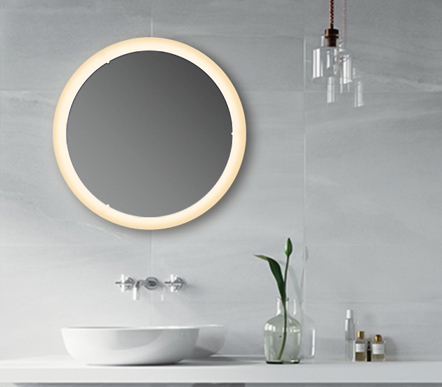 Fashion Beauty Hollywood stick on wall LED light Round Oval Vanity Make up Table Mirror