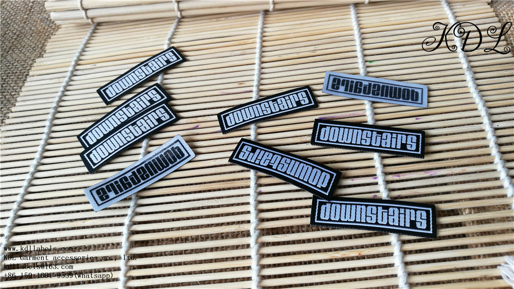 iron on clothing label/tag make your own iron on woven label