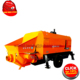 china small truck 25m 28M pump trailer concrete conveyor