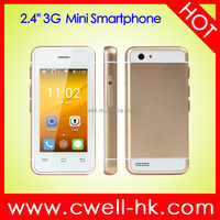 2.4 Inch Touch Screen Single SIM Dual Core 3G Android Smartphone S9 Melrose Mini Phone
