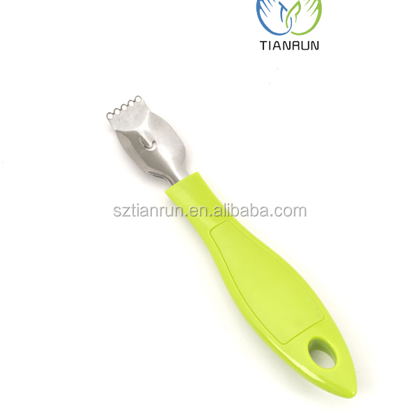 Kitchen Tools Stainless Steel Slip Handle Lemon peeler