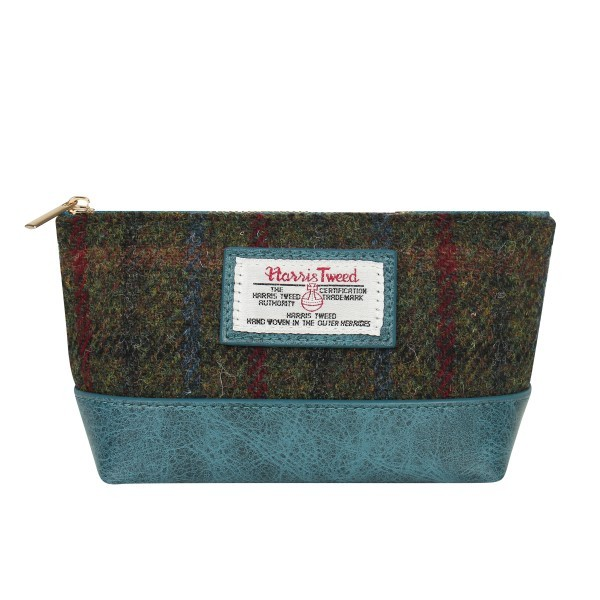 new arrival high quality Harris Tweed cosmatic pouch