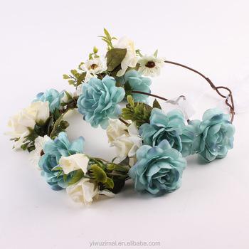 Indah Hawaii Bunga Karangan Bunga Rambutbuatan Bunga Kepala