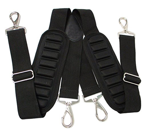 FREE SAMPLE FACTORY PRICE Heavy-Duty And Durable Adjustable Tool Belt Suspenders With Comfort Padding Partnered