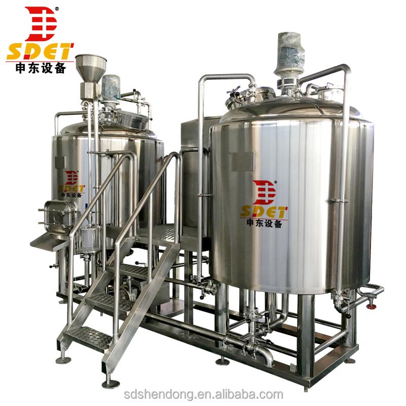 बिक्री के लिए माइक्रो वाणिज्यिक बीयर शराब की भठ्ठी संयंत्र