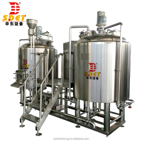 micro commercial beer brewery plant for sale