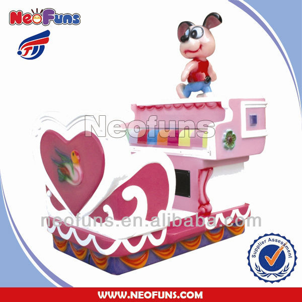 Little Piano children indoor rides game machine/Electric Kiddie Ride Machine