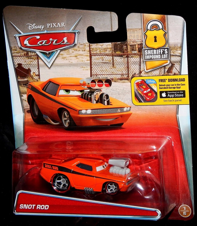 Buy Disney Cars Snot Rod Snotrod Sheriffs Impound Lot Edition 1 Of