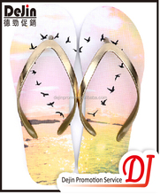 Cheap promotion natural 1 euro flip flops