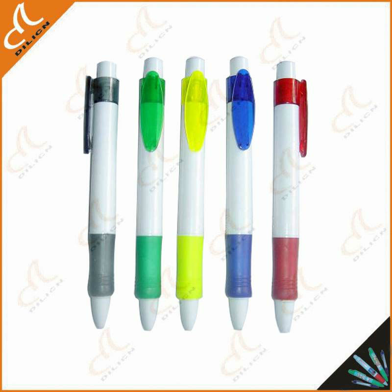 high quality retractable advertising ballpoint pen