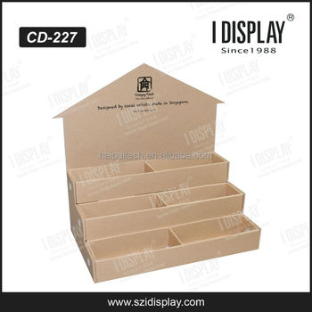 Cardboard Greeting Card Table Display Stand Gift Card Display Stand Stunning Cardboard Card Display Stand
