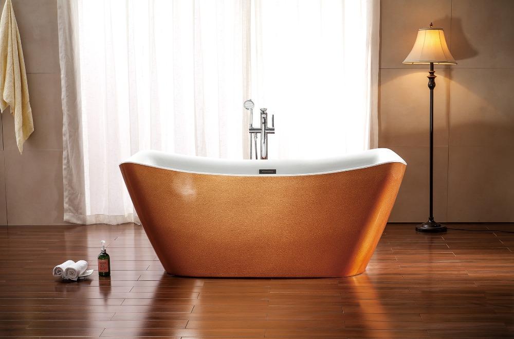 Badkamer Douche Kranen : Gouden kleur bad en douche kraan set badkamer vrijstaand bad buy