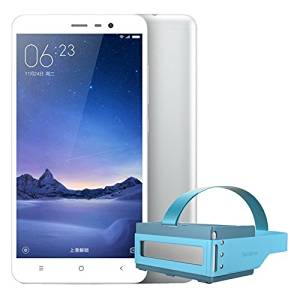 Android 5.1 Redmi Note3 Pro 3+32GB Silver color + Focalmax Accordion 3D Glasses VR Bule color Combo 4G LTE Fingerprint Dual Sim Octa Core 2.0GHz 5.5 inch FHD 5+16MP