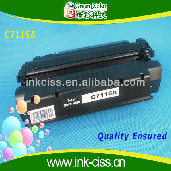 c7115a compatible toner cartridge for hp 1000/1005/1200/1220/3300/3310/3320/3330/338/LBP1210 factory price