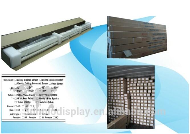 Electric floor mounted projector screen floor matttroy for Motorized floor up screen