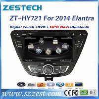 2015 double din car stereo dvd player gps navigation car monitor, for hyundai elantra oem radio/